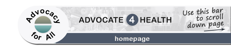 Advocate 4 Health - Home page banner