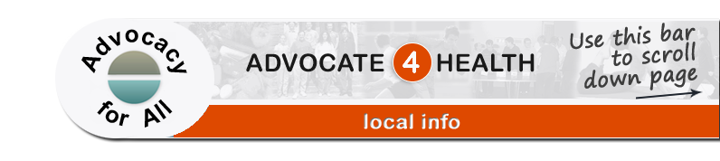Advocate 4 Health - Local info page banner